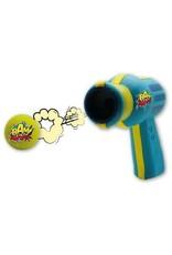 BAM Catnip Gun Cat Toy in Blue and Yellow