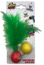 BAM Catnip Gun Cat Toy Refill Feather Balls