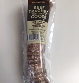 Hollings Beef Trachea filled with Goose Natural Dog Treat