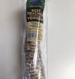 Hollings Trachea with a Venison Filling Dog Treat