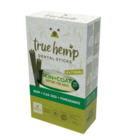 True Hemp True Hemp Skin & Coat Dental Sticks For Dogs Multi Pack 28 sticks