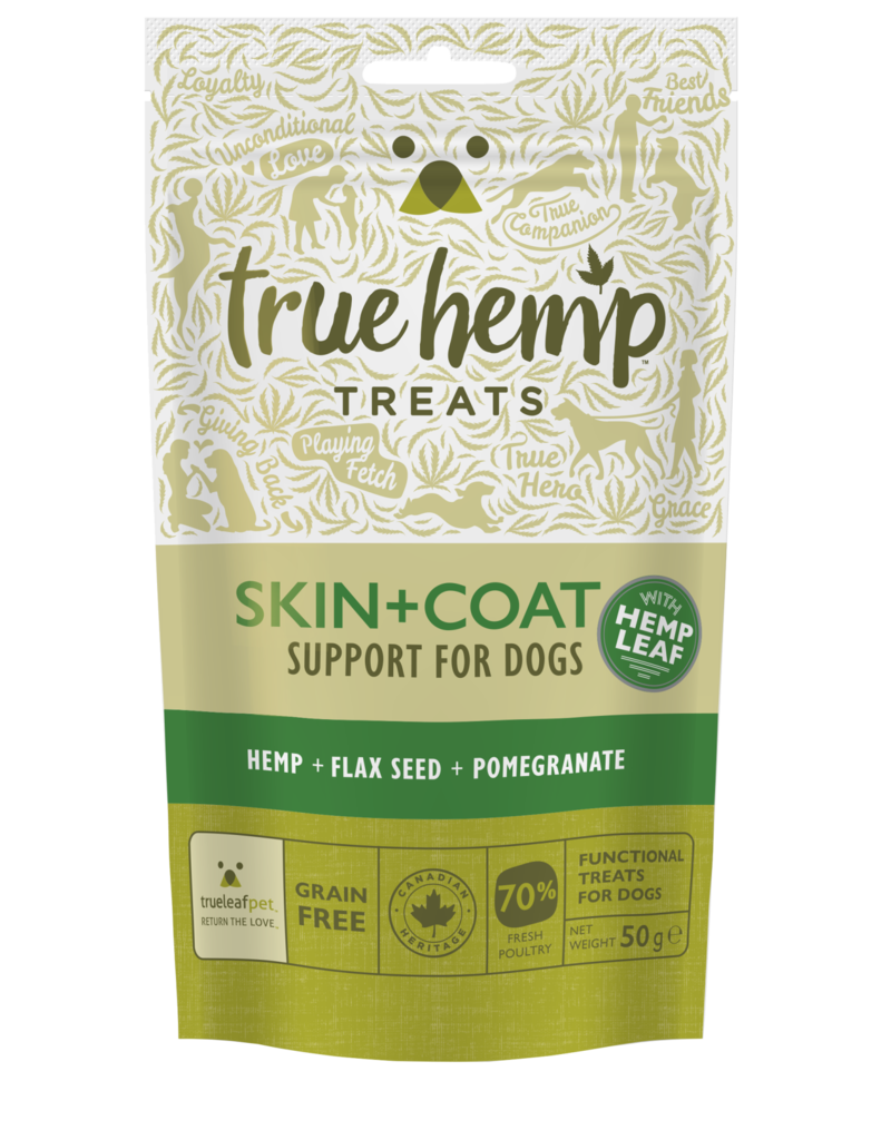 True Hemp True Hemp Skin & Coat Treat for Dogs 50g