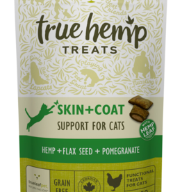 True Hemp Skin & Coat Grain Free Chicken Cat Treats, 50g