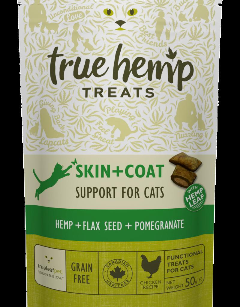 True Hemp True Hemp Skin & Coat Cat Treats 50g