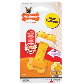 Nylabone Extreme Chew Cheese Bone Dog Toy