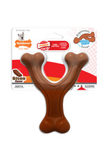 Nylabone Extreme Chew Wishbone Bison Dog Toy