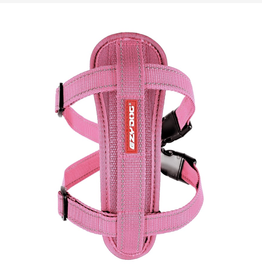 EzyDog Chest Plate Harness with Seat Belt Loop, Pink