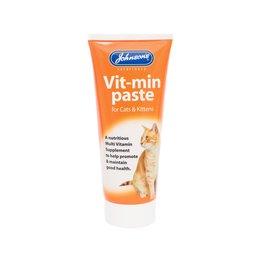 Johnsons Veterinary Vit-Min Paste Multi-vitamin Daily Supplement for Cats & Kittens 50g