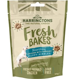 Harringtons Fresh Bakes Chicken with Yoghurt Puppy Nibbles Dog Treats, 100g