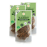 jr pet products Pure Rabbit Training Dog Treats, 85g