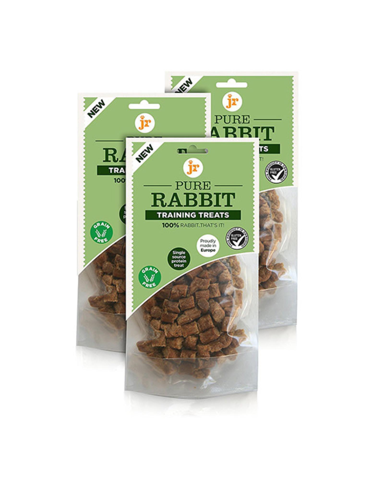 jr pet products Pure Rabbit Training Dog Treats, 85g