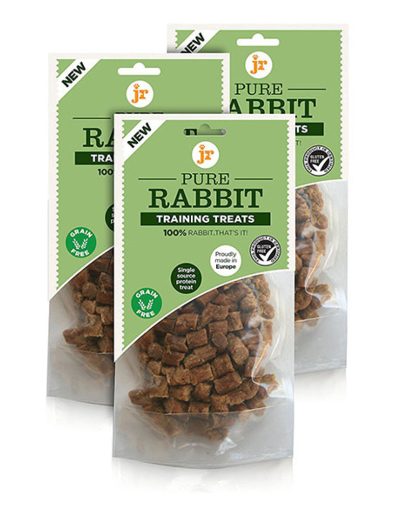 jr pet products Pure Rabbit Training Dog Treats 85g