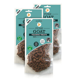 jr pet products Pure Goat Training Dog Treats, 85g