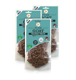jr pet products Pure Goat Training Dog Treats, 85g