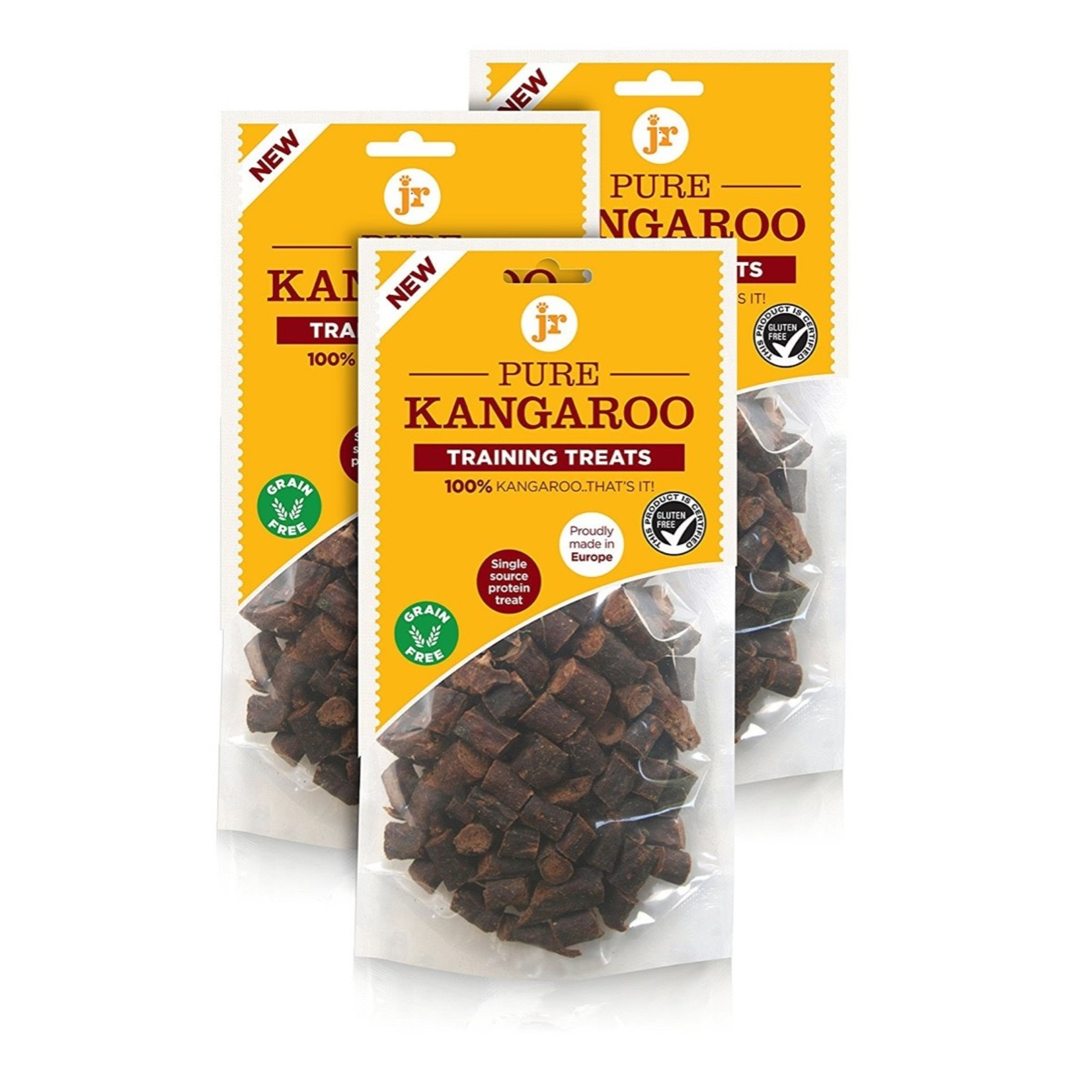 jr pet products Pure Kangaroo Training Dog Treats, 85g