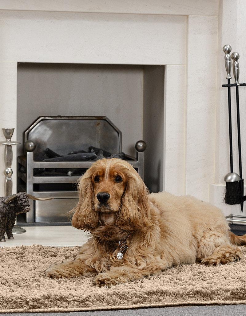 Pet Rebellion Snug Rug Luxury Pile Blanket Brown 67 x 100cm