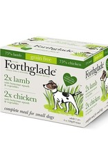 Forthglade Complete Adult Chicken and Lamb Mixed Pack of 4 With Potato and Veg 150g