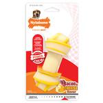 Nylabone Extreme Chew Knot Bone Dog Toy Bacon & Cheese Large