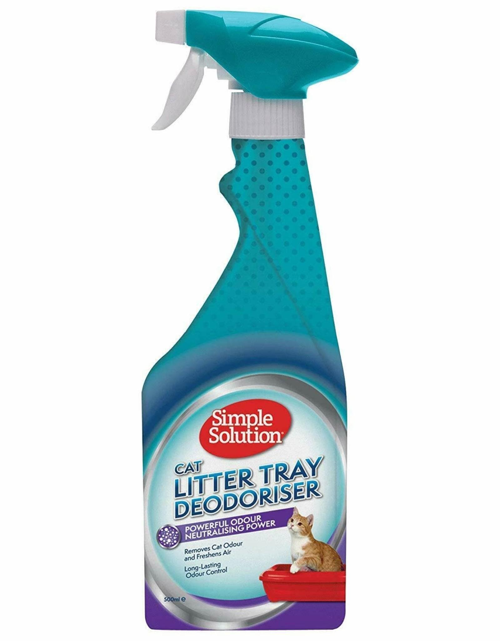 Simple Solution Cat Litter Tray Deodoriser, 500ml
