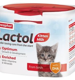 Beaphar Lactol Milk Replacer for Kittens, 250g