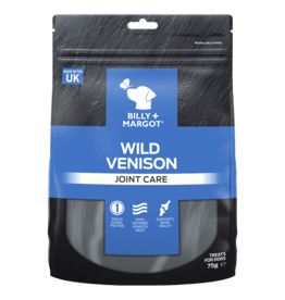 Billy + Margot Venison Joint Care Treat Dog Treats 75g