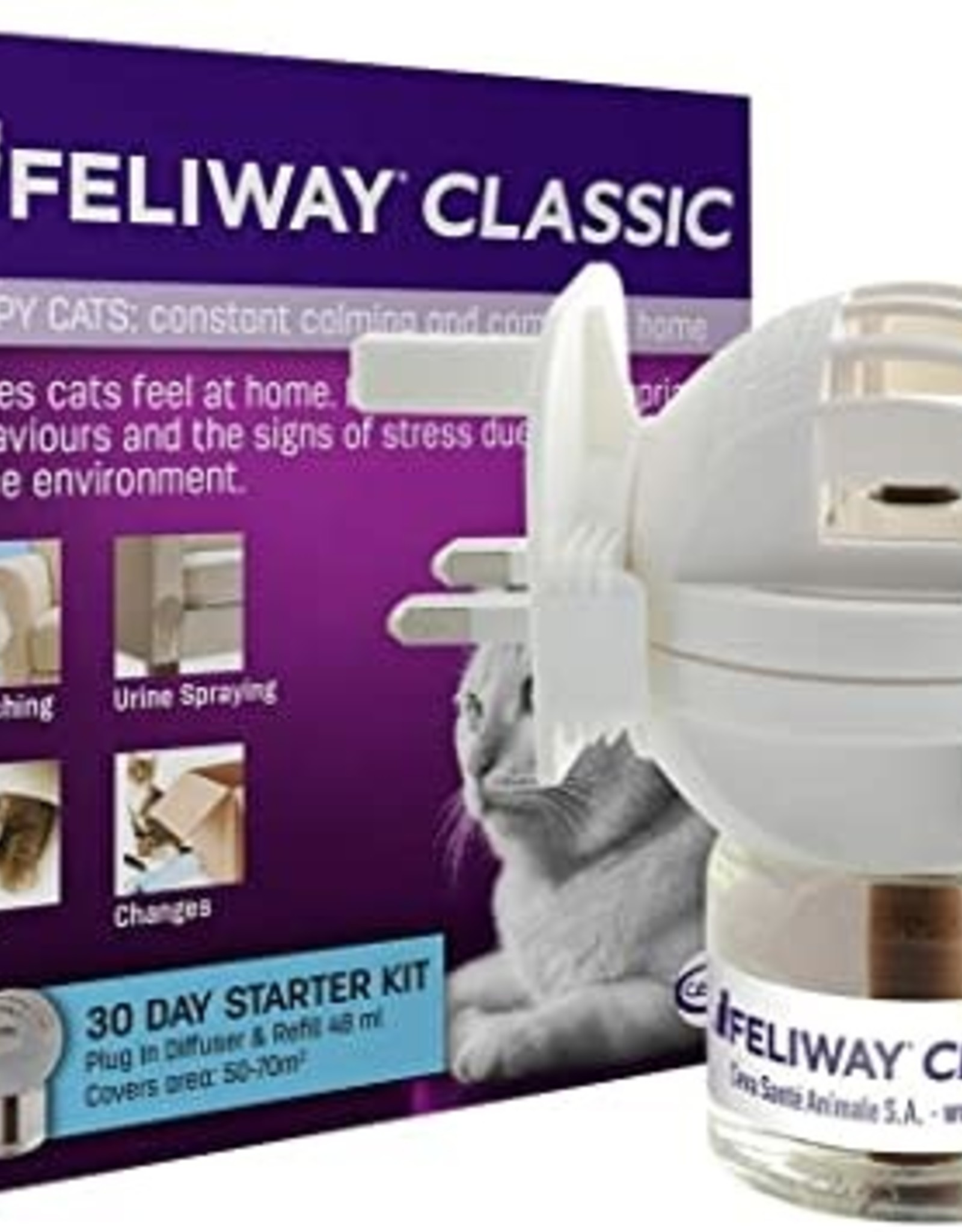 Feliway Classic Happy Cats Diffuser Starter Pack 48ml