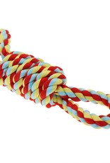 Happy Pet Twist-Tee Coil Tugger & 2 Handles Rope Dog Toy