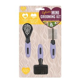 Rosewood Options Mini Grooming Set for Small Animals