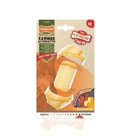 Nylabone Extreme Chew Knot Bone Dog Toy Bacon & Cheese Medium
