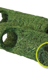 Happy Pet Natural Tropical Small Animal Tunnel in Green, Small 18cm