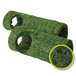 Happy Pet Natural Tropical Small Animal Tunnel in Green, Large 25cm