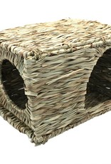 Happy Pet Nature First Grassy Hideaway for Small Animals, Small