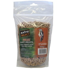 Extra Select High Energy Wild Bird Suet Pellets with Fruit 550g