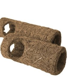 Happy Pet Natural Tropical Small Animal Tunnel in Brown, Small 18cm