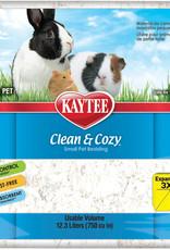 Kaytee Clean & Cozy White Small Pet Animal Paper Bedding