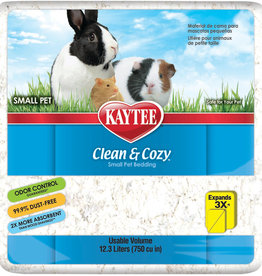 Kaytee Clean & Cozy White Small Pet Paper Bedding