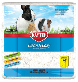 Kaytee Clean & Cozy White Small Pet Animal Paper Bedding