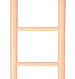 Trixie Wooden Bird Ladder, 5 Rungs, 24cm
