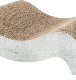 Trixie Cardboard 'Wave' Cat Scratching Post, XL, 64 x 14 x 37cm