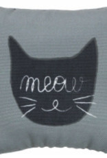 Trixie Filled Cushion for Cats with 'Meow' Motiff, 10cm