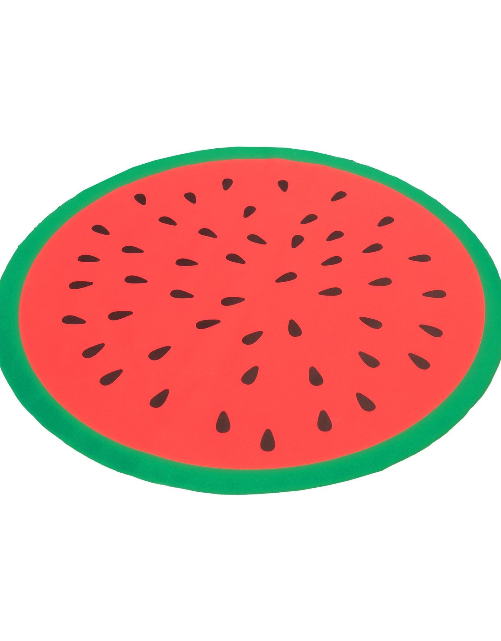 Rosewood Watermelon Print Circular Pet Cool Mat