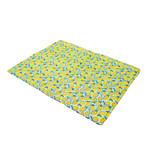 Rosewood Lemon Print Rectangular Pet Cool Mat