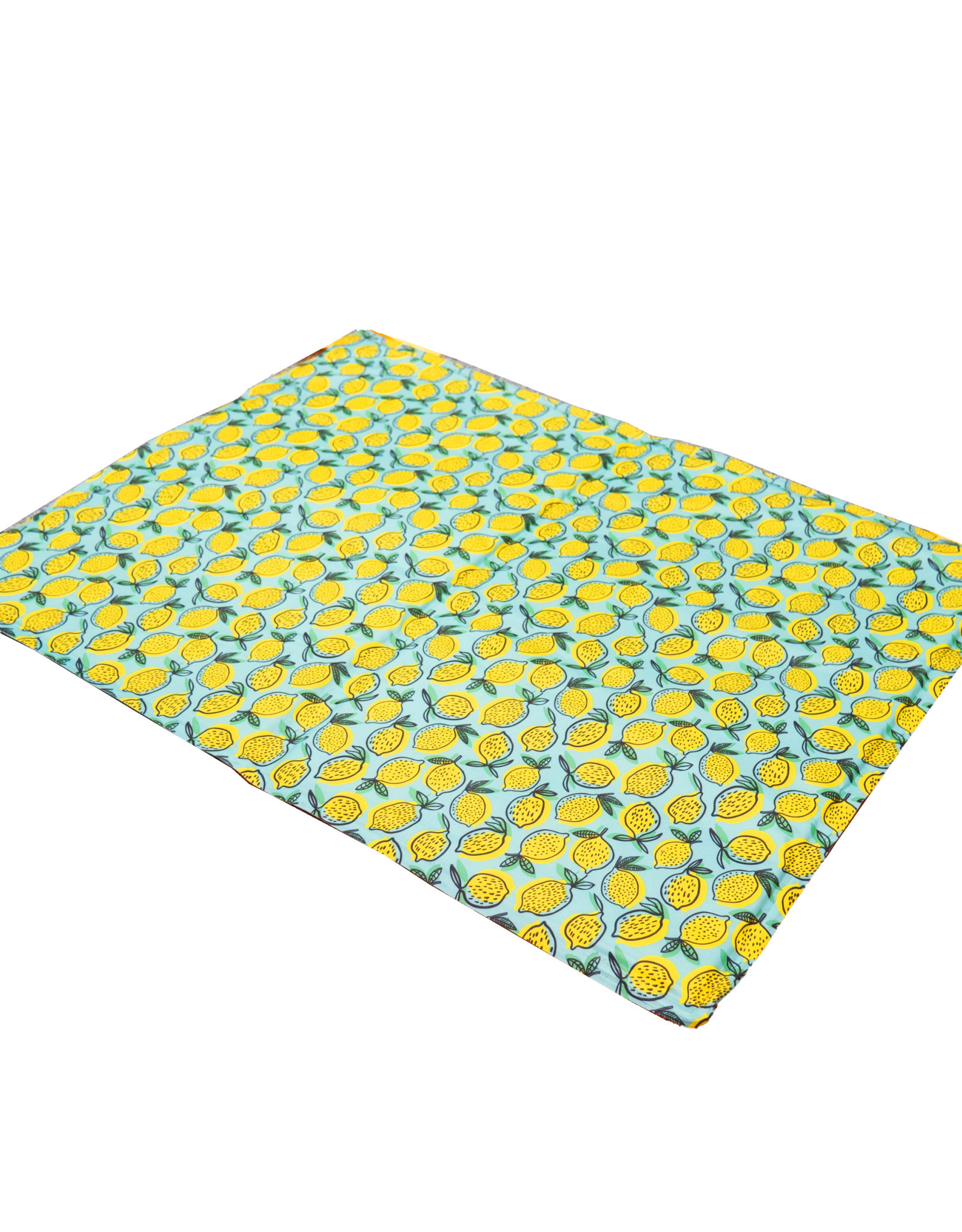 Rosewood Lemon Print Rectangular Pet Cool Mat