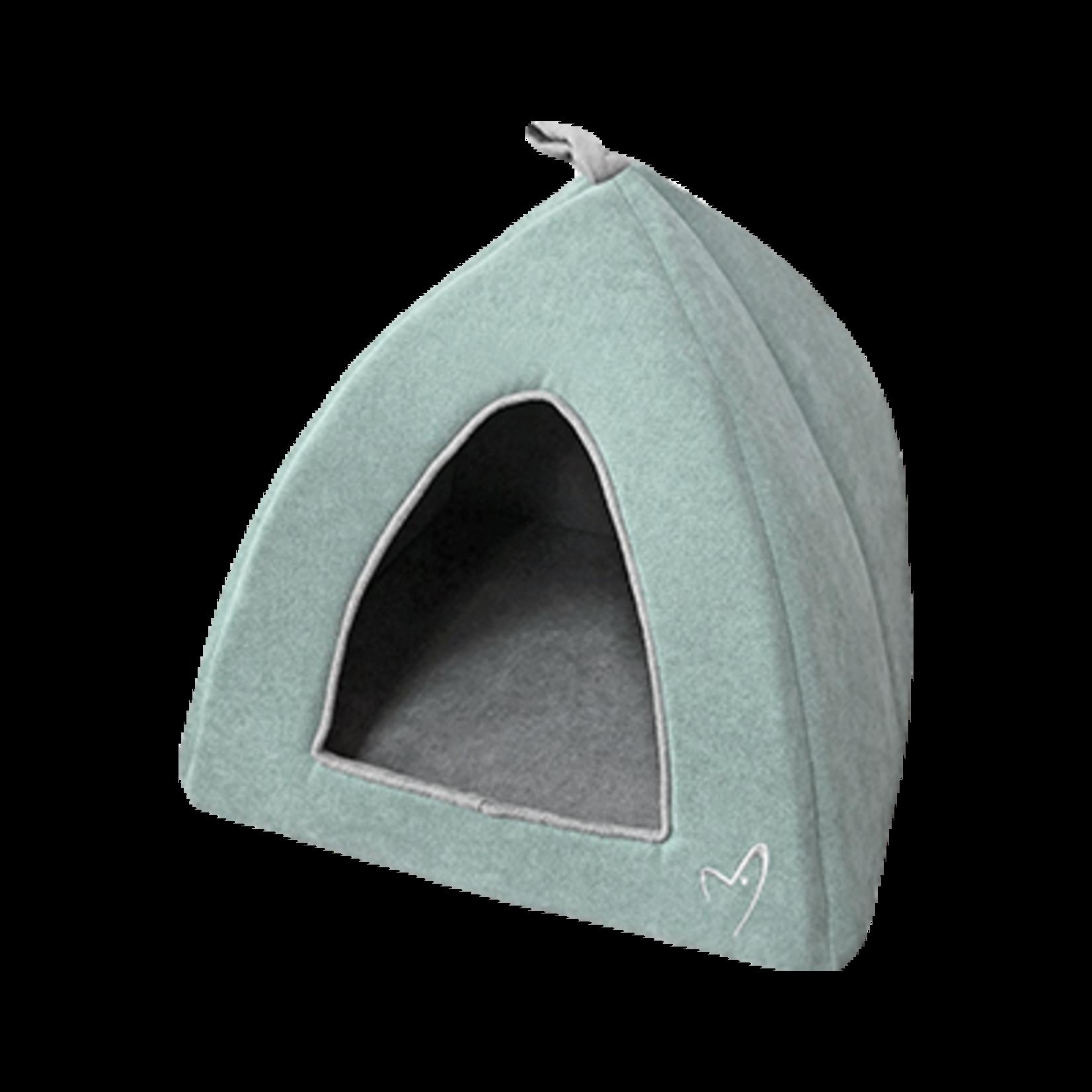 Gor Pets Camden Pyramid Cat Bed 40x40x40cm in Mint***