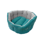 Gor Pets Camden Deluxe Dog Bed in Teal