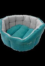 Gor Pets Camden Deluxe Dog Bed in Teal