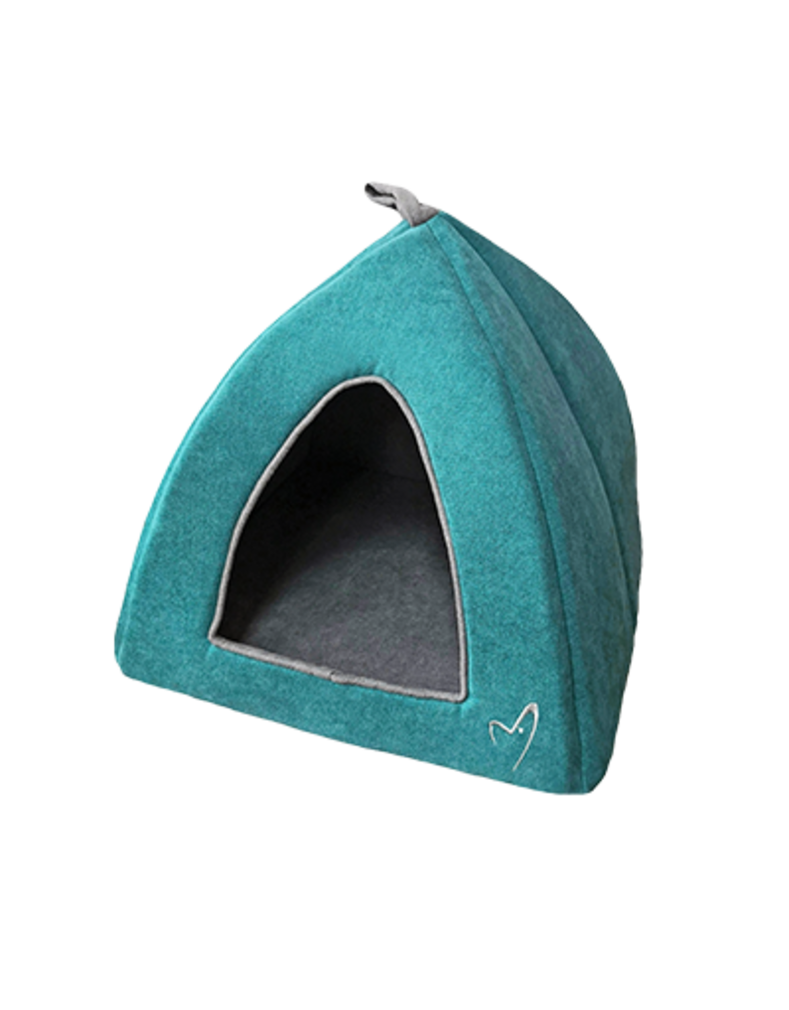 Gor Pets Camden Pyramid Cat Bed 40x40x40cm in Teal