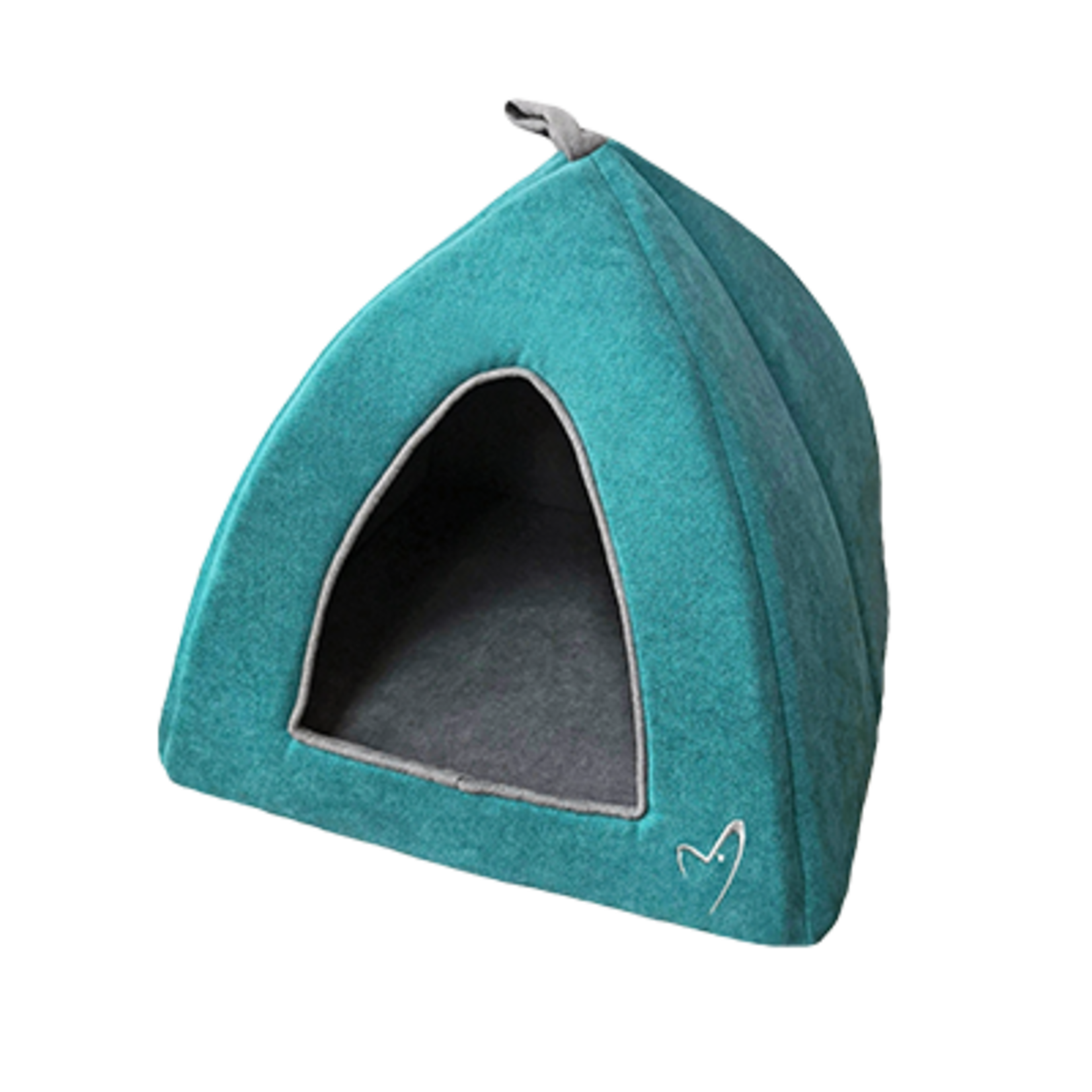 Gor Pets Camden Pyramid Cat Bed 40x40x40cm in Teal***