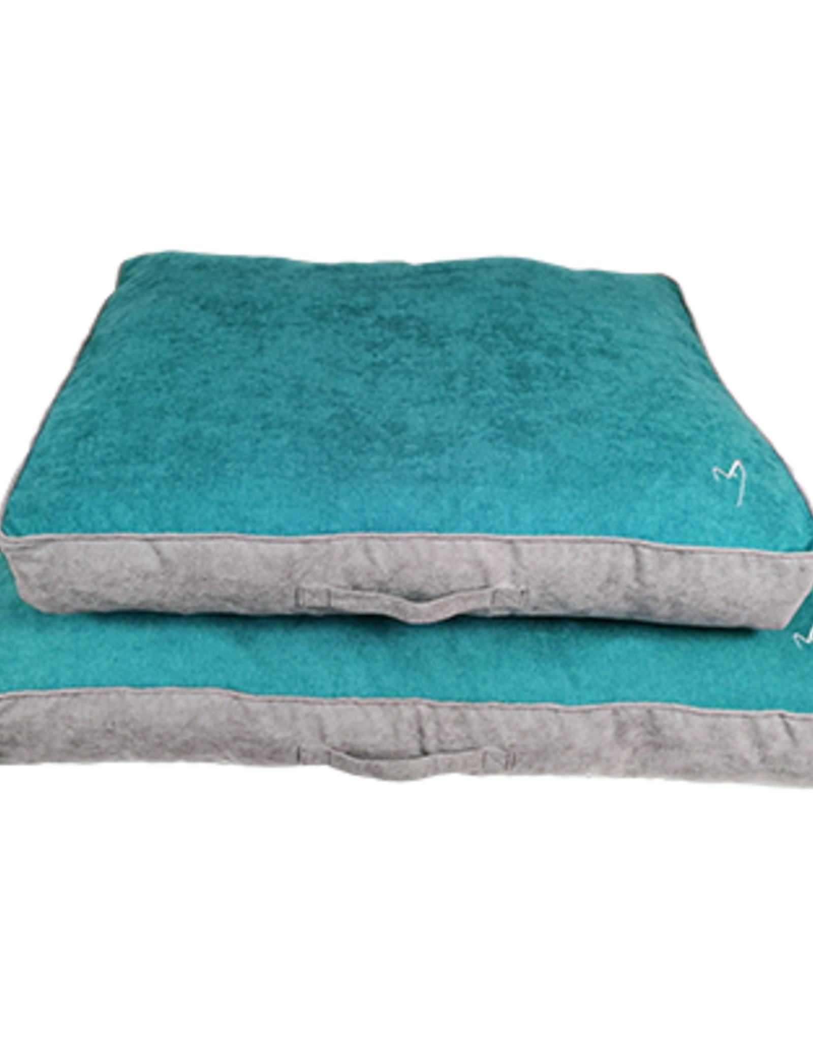 Gor Pets Camden Sleeper Dog Bed with Removable Cover in Teal