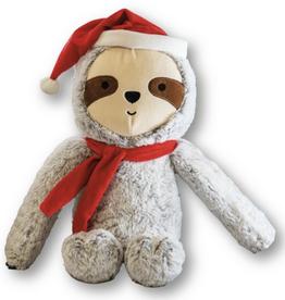 Plush Christmas Sloth Dog Toy